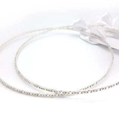 silver swarovski crystal stefana crowns