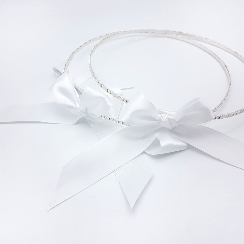 silver swarovski crystal bridal crowns