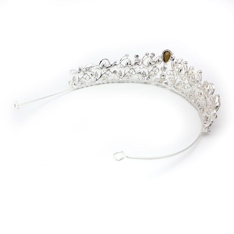 Paulini silver bridal tiara