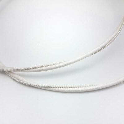 silver handmade greek stefana