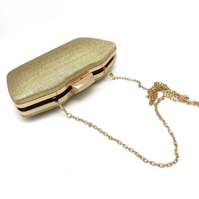 gold bridal bag