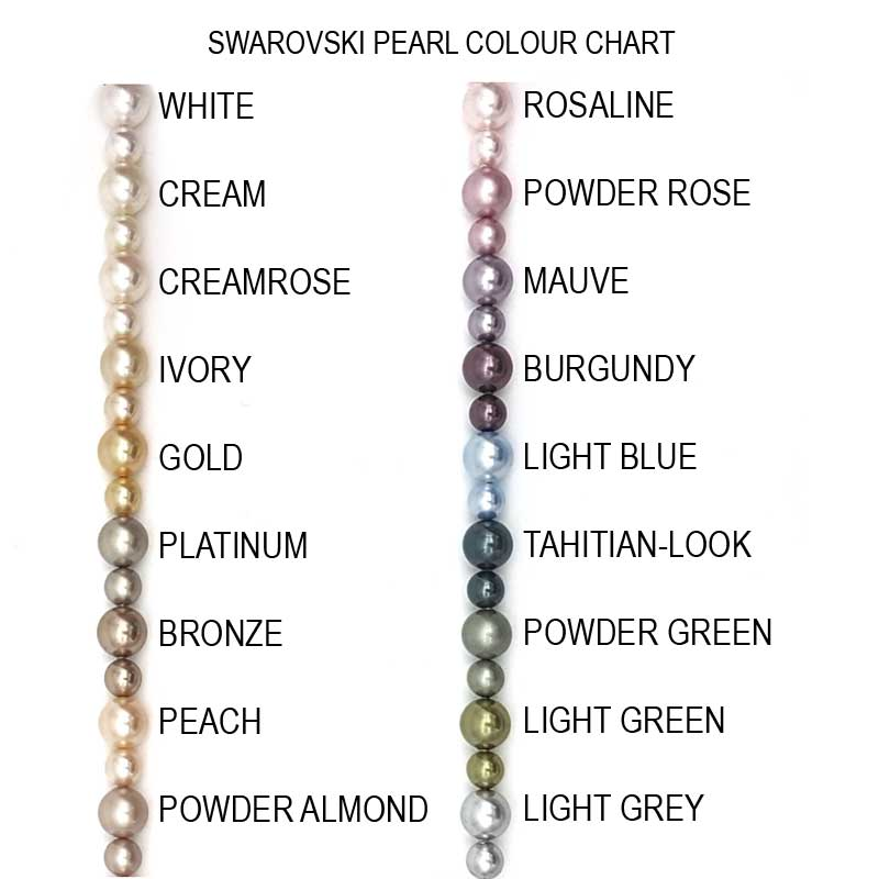 swarovski pearl colour chart