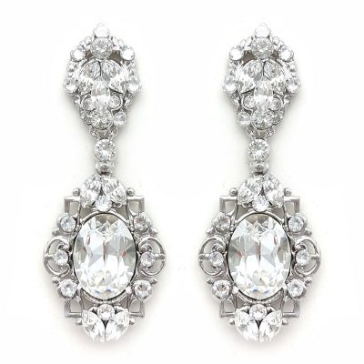 Swarovski Statement Earrings