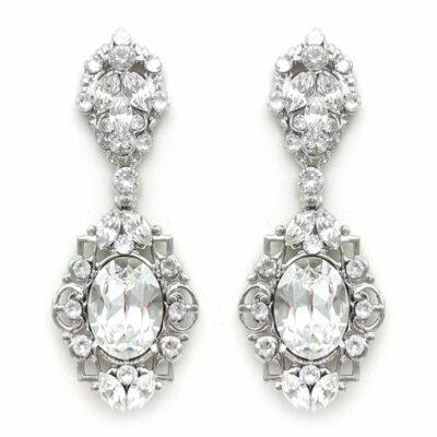 Swarovski Statement Earrings