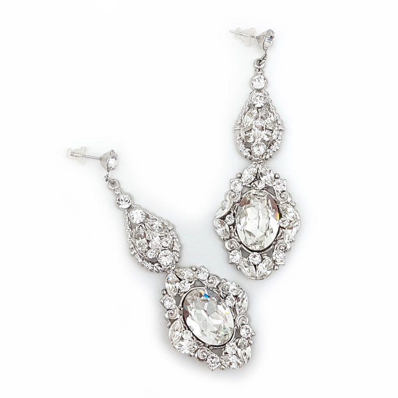Statement Swarovski Crystal Earrings