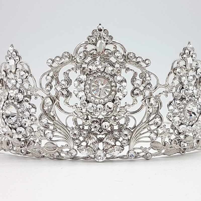 swarovski crystal bridal tiara