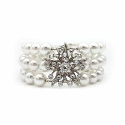 pearl cuff bangle