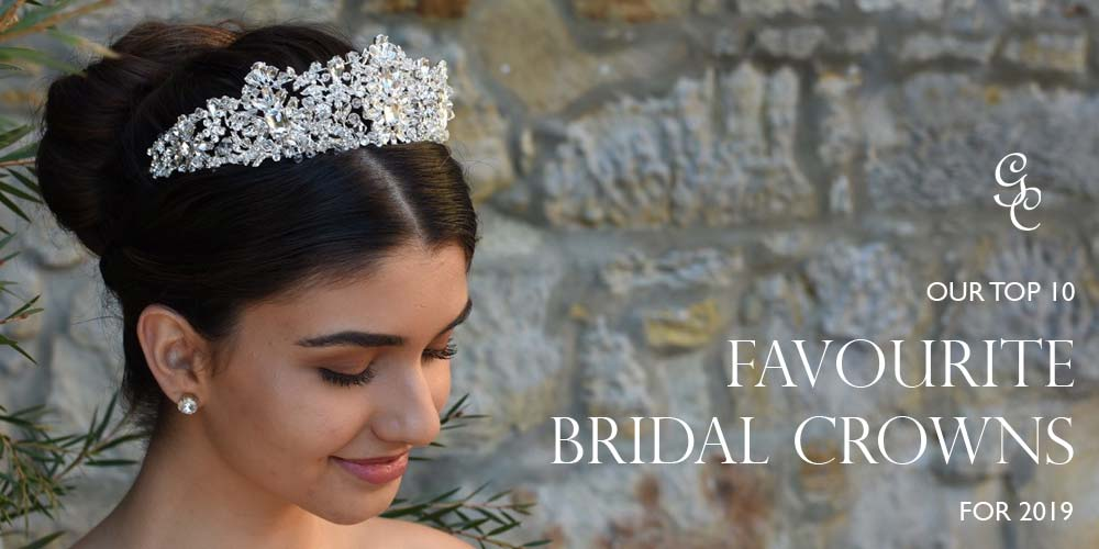 Top Bridal Crowns and Tiaras for 2019