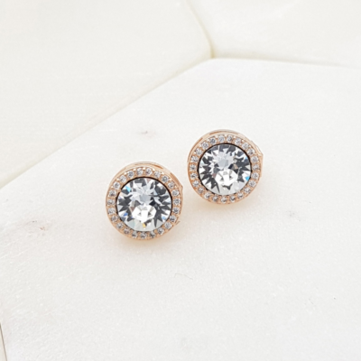 Swarovski Crystal Clip Earrings