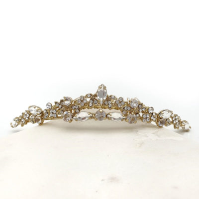 Gold Flower girl Tiara
