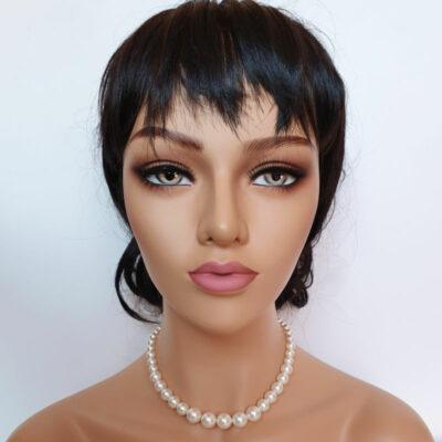 pearl collar bridal necklace