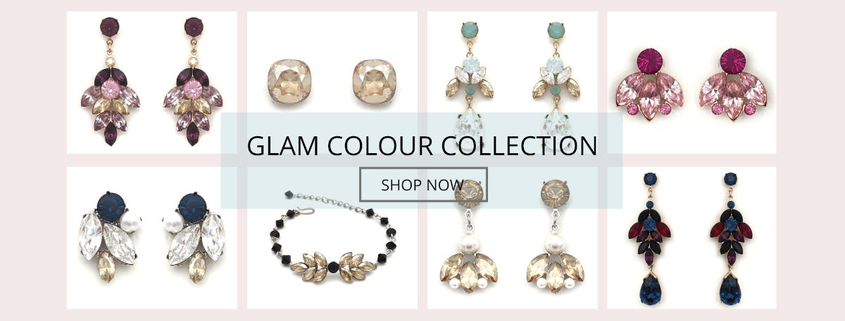 Glam Bridal Accessories Colour Collection