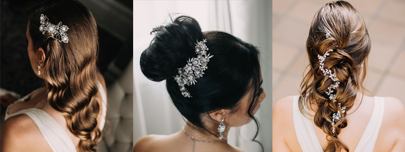 Stunning hairstyles for the beautiful brides