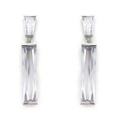 Silver vintage earrings